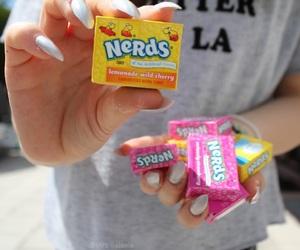 candy, lemonade, and nails image