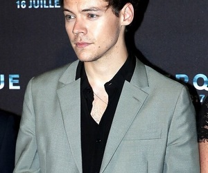 green eyes, dunkirk, and Harry Styles image