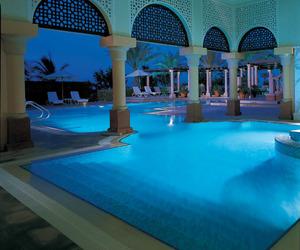 Dubai, pool, and vacation image