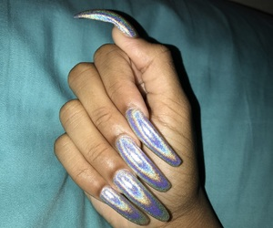 beautiful, gorgeous, and long nails image