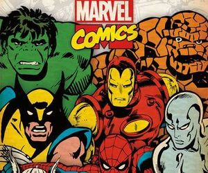 comics, Marvel, and Hulk image