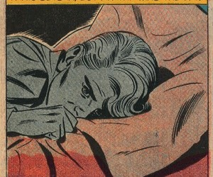 comic, quotes, and sad image