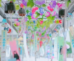 japan, wind chime, and summer image