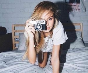 girl, scarlett leithold, and blonde image