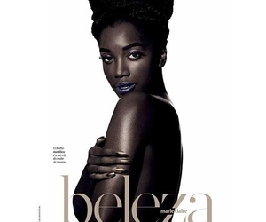 Afro, beauty, and marie claire image