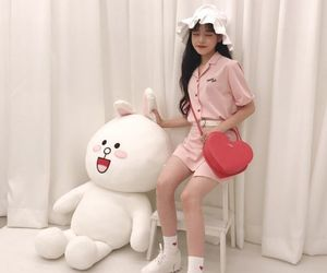 asian, pink, and plushie image