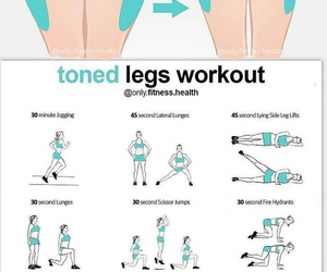 beach, fitness, and legs image