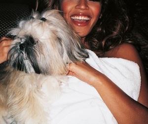 beyoncé, dog, and smile image