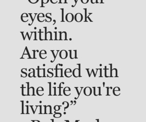 happy, quotes, and open your eyes image