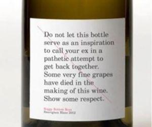 wine, ex, and bottle image
