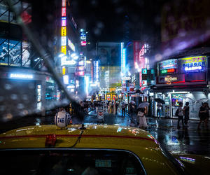 blade runner, cinematic, and cities image