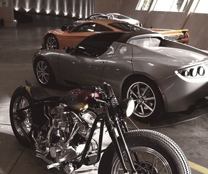 car, luxury, and motorcycle image
