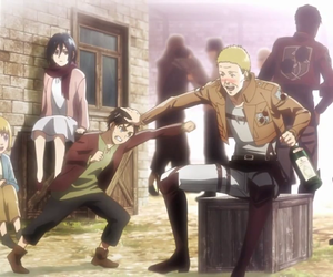 anime, attack on titan, and eren jeager image