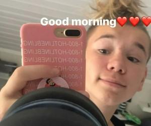 boy, boys, and good morning image
