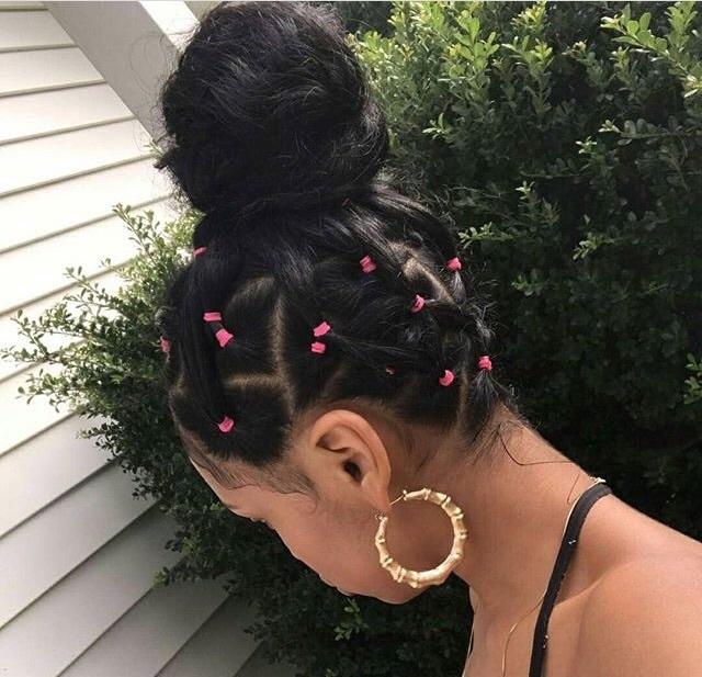 hair, hair style, and cute image