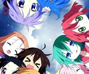 kawaii, lucky star, and anime image