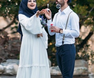 family, forever, and muslim couples image