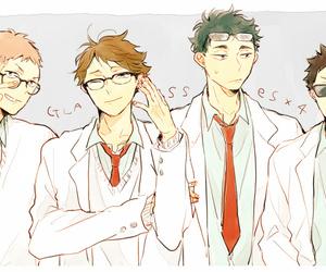 haikyuu, hanamaki takahiro, and aoba jousai image