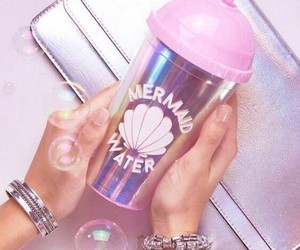 accessory, tumbler, and bubble image