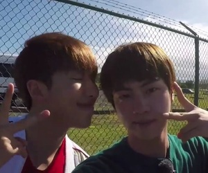 jin, namjin, and bts image