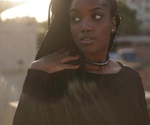 Afro, black, and box braids image