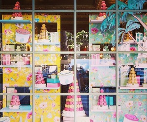 boutique, champs, and macarons image