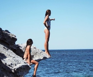 summer, ocean, and style image