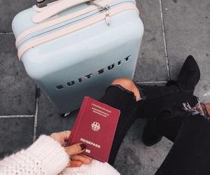 travel, passport, and explore image
