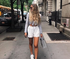 long hair, pretty, and street image