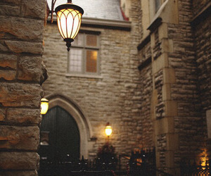 light, street, and building image