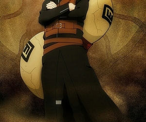 naruto, anime, and gaara image