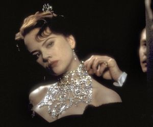 moulin rouge, Nicole Kidman, and diamonds image