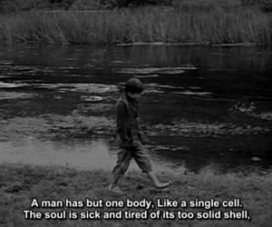 cell, feelings, and man image