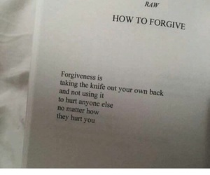 forgiveness, how to, and move on image