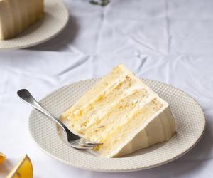 cake, food, and lemon image