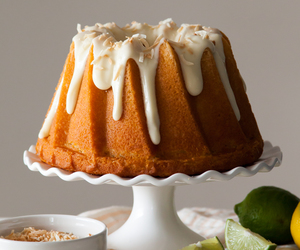 cake, citrus, and cream cheese image