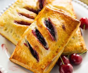 cherry, pie, and dessert image