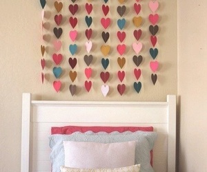 diy, room, and hearts image