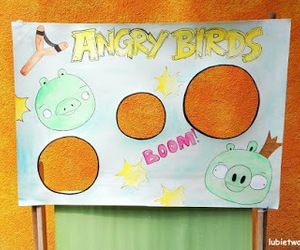 diy, zabawa, and angrybirds image
