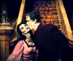kiss, love, and monster image