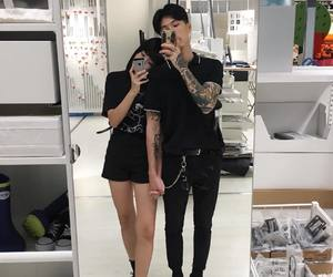 couple, korean, and tattoo image