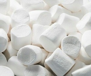 aesthetic, marshmallow, and white image