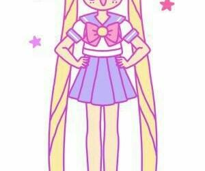 sailor moon, cute, and anime image
