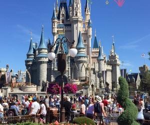 background, castle, and cinderella image