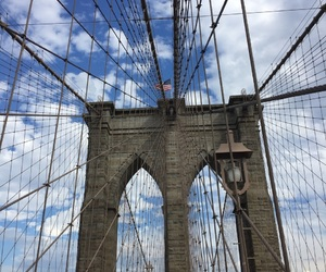 bridge, Brooklyn, and city image