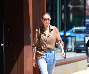 candid, hq, and gigi hadid image