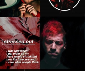 josh, dun, and stressed out image