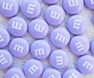 purple, m&m, and aesthetic image
