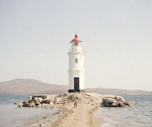 indie, aesthetic, and lighthouse image