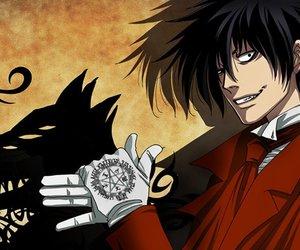 hellsing, anime, and alucard image